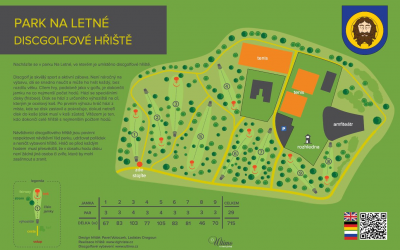 DiscGolfové hřiště Teplice