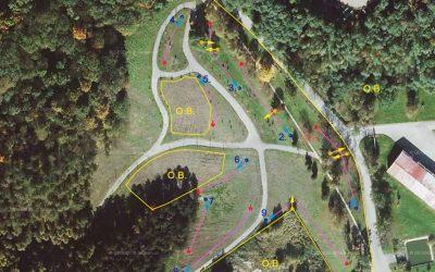 DiscGolfové hřiště Nučice