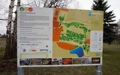 DiscGolfové hřiště Osek