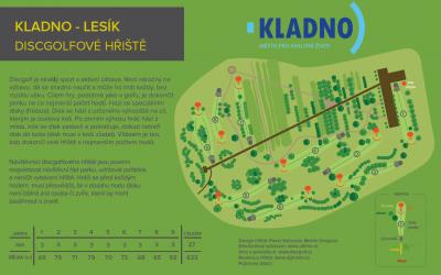 DiscGolfové hřiště Kladno – Lesík