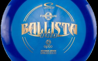 Videorecenze disku Ballista pro